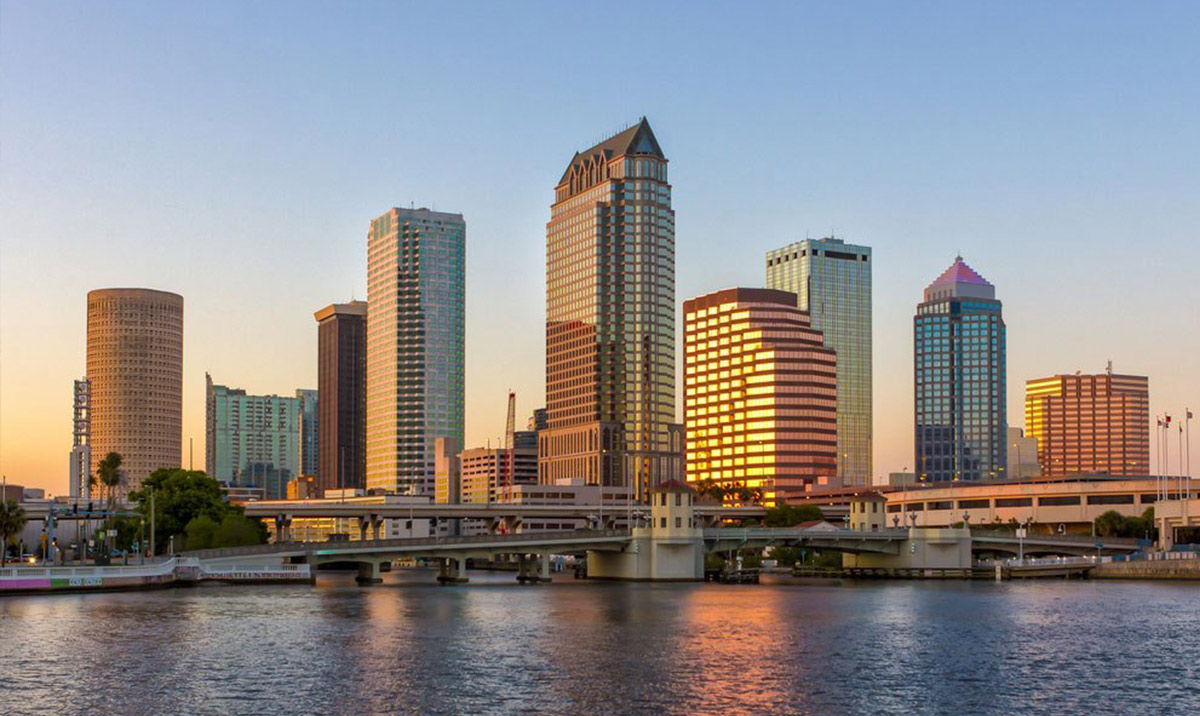 We have performed many installations throughout the Tampa Bay area