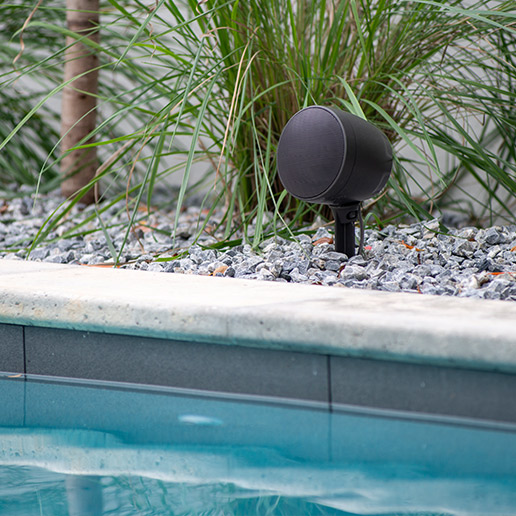 Outdoor Audio in pool area