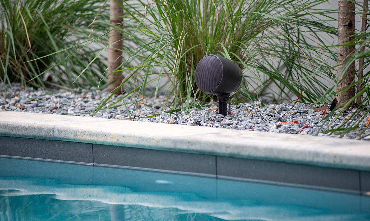 Outdoor Audio in pool area
